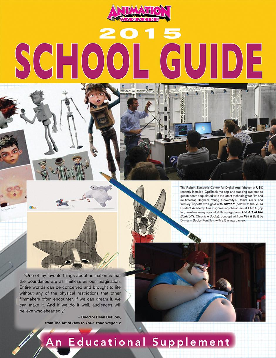 Animation Magazine – 2015 School Guide