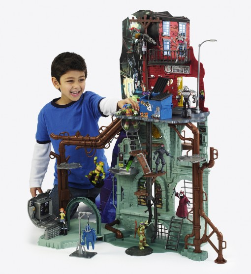 Secret Sewer Lair Playset