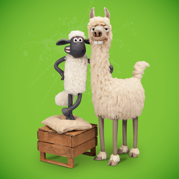 Shaun the Sheep - The Farmer's Llamas