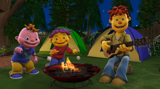 Sid the Science Kid Backyard Campout
