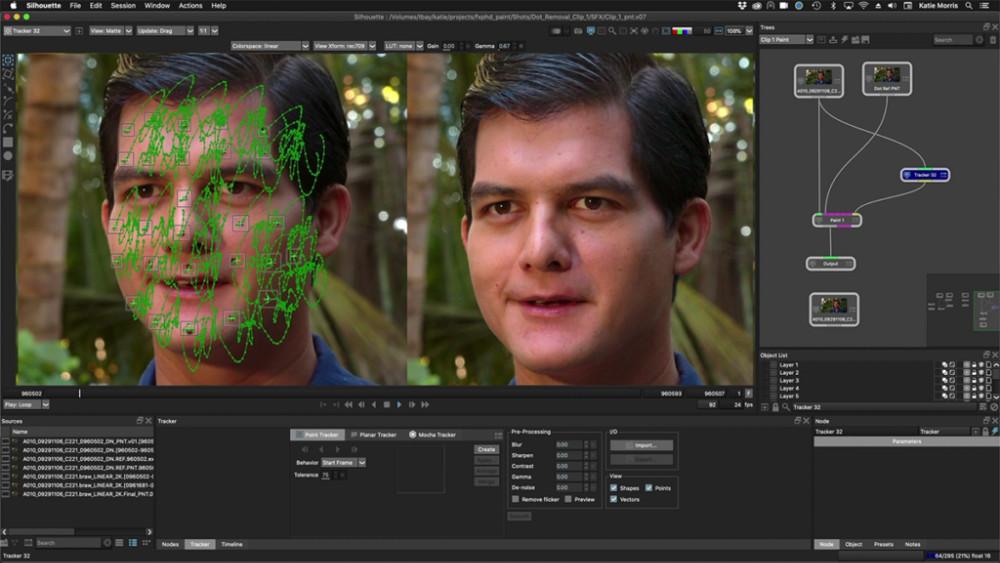 Boris FX's Silhouette 2021 Software
