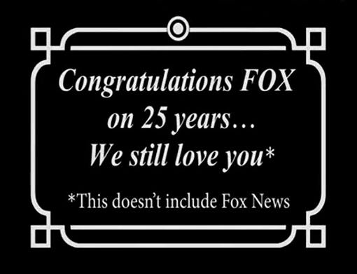 The Simpsons snubs Fox News