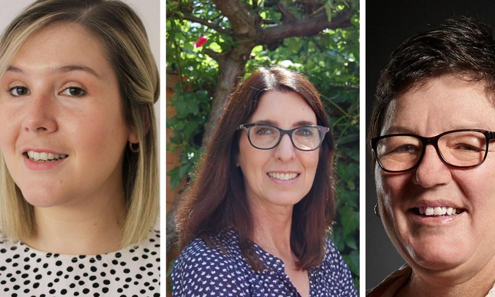 Siobhan Bentley, Melissa Taylor, Tamara Boutcher