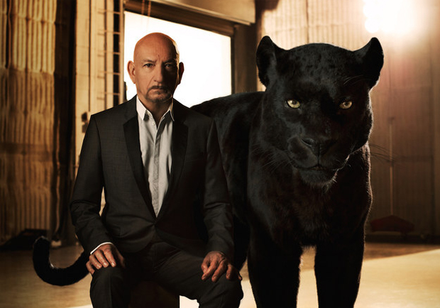 Sir Ben Kingsley voices Bagheera, Mowgli's teacher and protector in The Jungle Book
