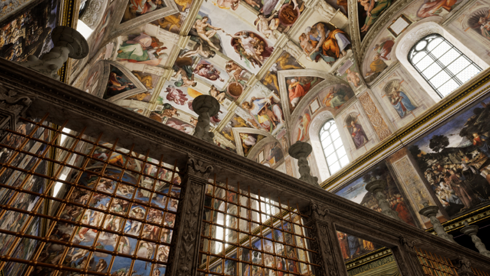 Sistine Chapel VR