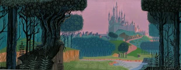 Sleeping Beauty art by Eyvind Earl