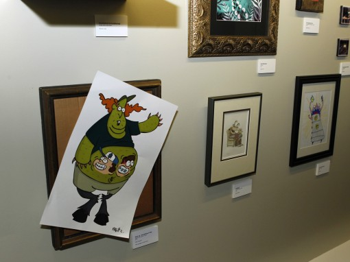 "DISNEY CHANNEL - Disney Television Animation hosts a fall art gallery themed ""Some Kind of Monster"" spotlighting submissions from its pool of talented creative artists, executives and staff at their offices in Glendale, Calif. (Thursday, October 18). (DISNEY CHANNEL/RICK ROWELL)"