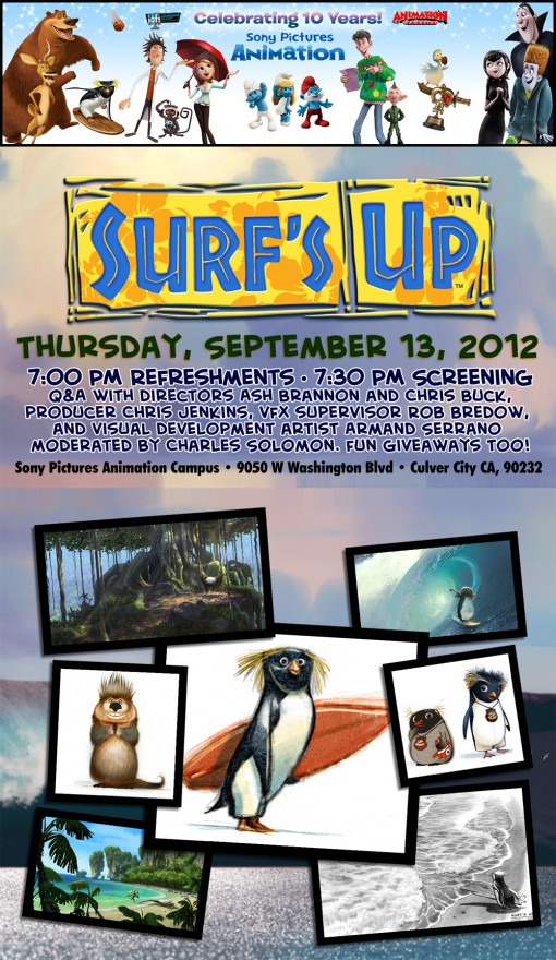 Sony Pictures Animation Surf's Up Screening