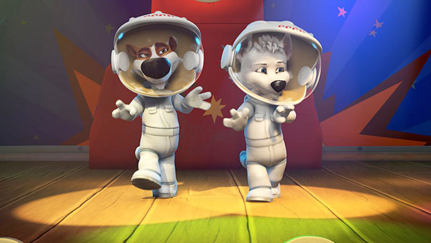 Space Dogs 2: Adventure to the Moon