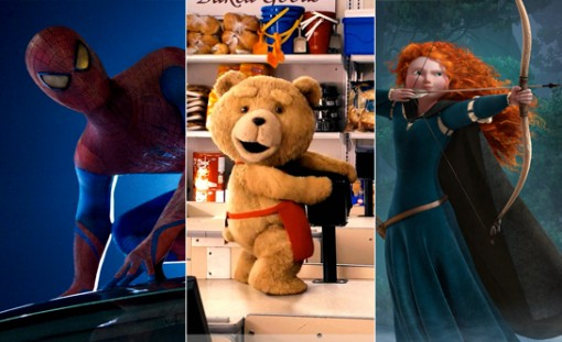 Amazing Spider-Man / Ted / Brave