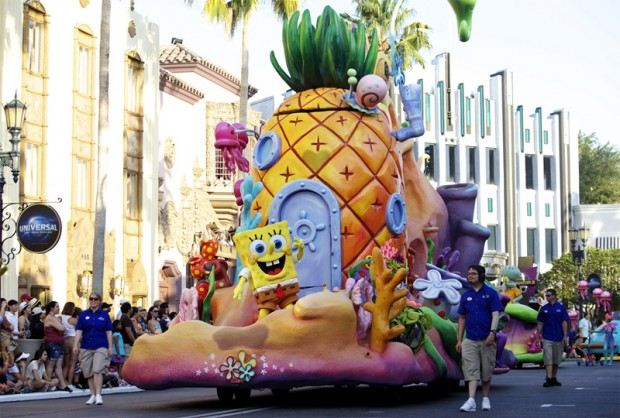 "SpongeBob ""Shellabration"" Planned at Universal Studios"