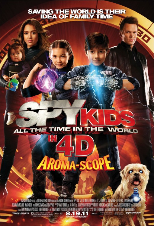 The Spy Kids: All the Time in the World in 4D