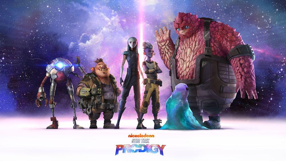 Star Trek: Prodigy - character lineup