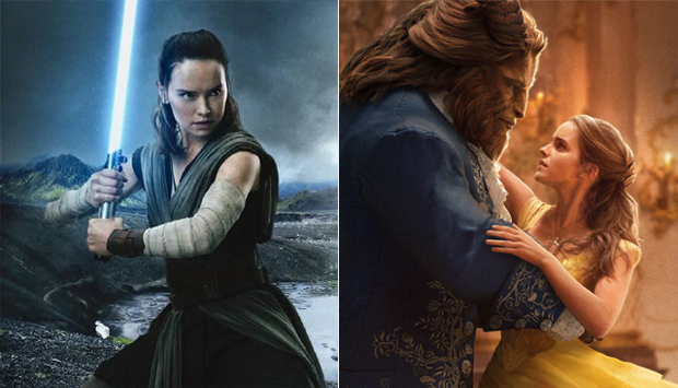 Star Wars: The Last Jedi / Beauty and the Beast