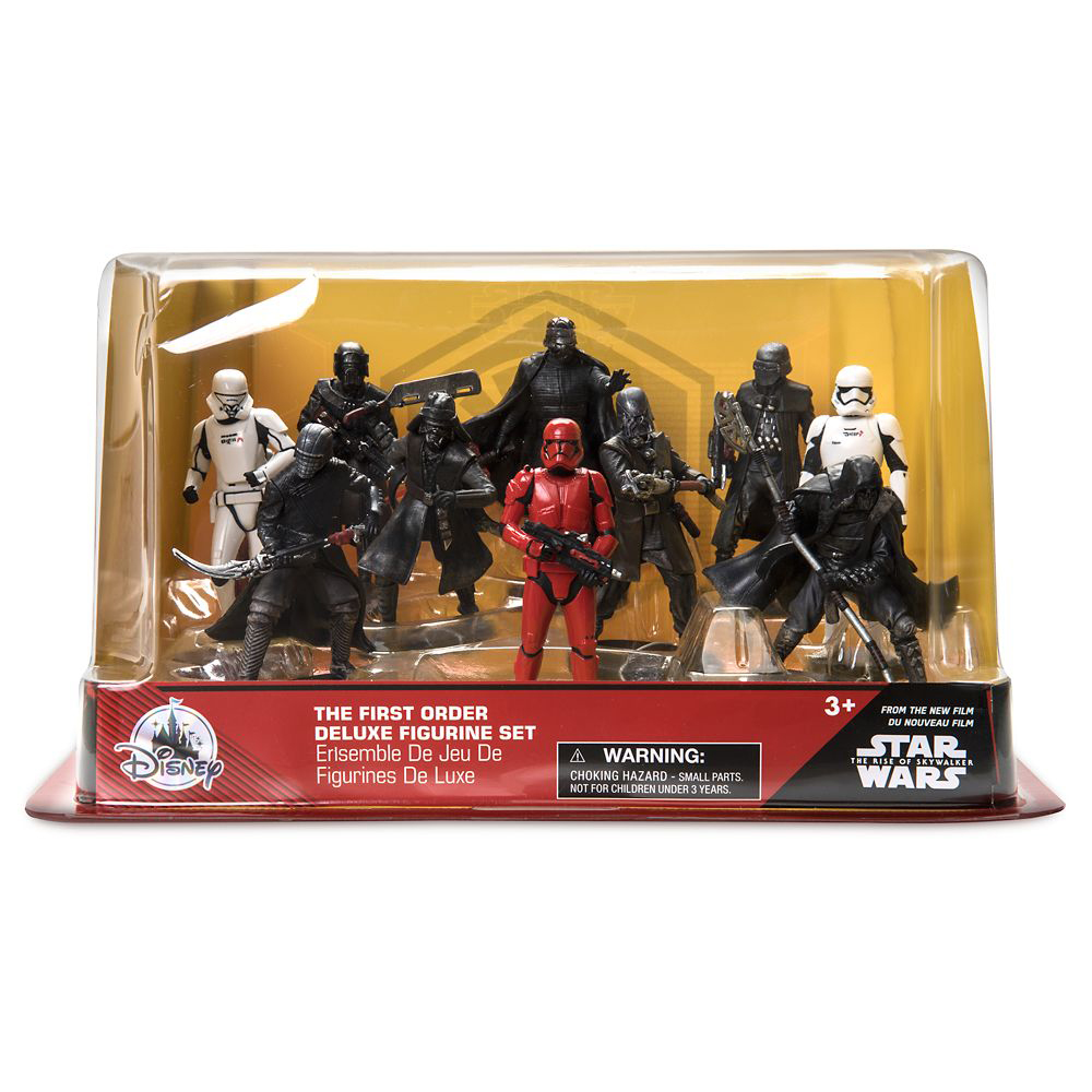 Star Wars: The Rise of Skywalker Deluxe Figure Play Set – First Order