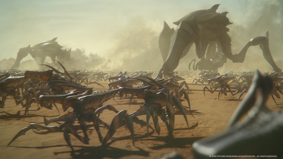 Watch the trailer for animated sequel 'Starship Troopers: Traitor Of Mars'