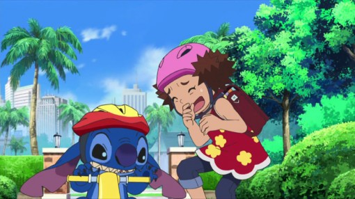 Stitch! to Suna no Wakusei (Stitch and the Planet of Sand)