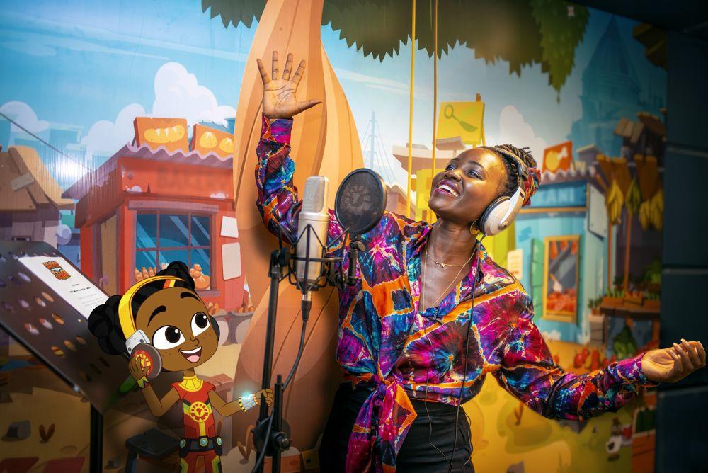 Sema and Lupita Nyong'o (photo: Kukua)