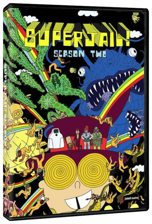Superjail! Season 2 DVD