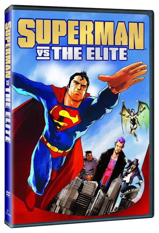 Superman vs. The Elite Blu-ray/DVD