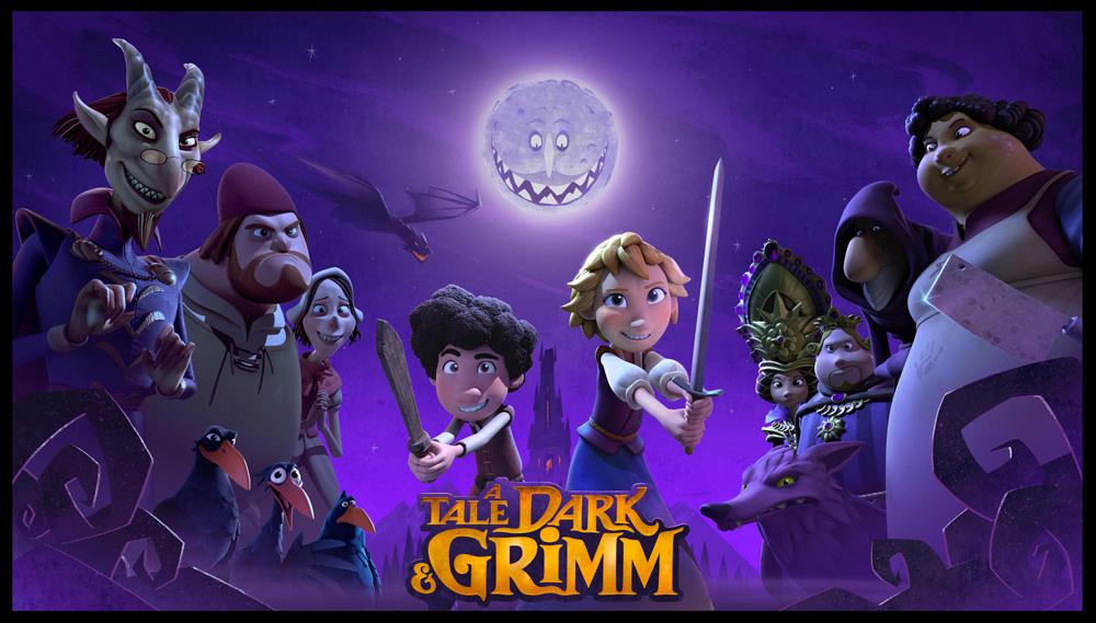 Un cuento oscuro y Grimm