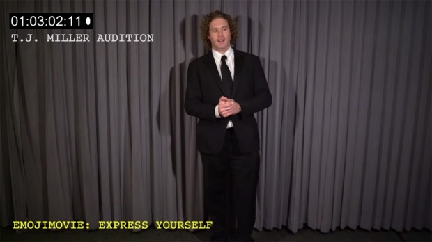 T.J. Miller Auditions for Emojimovie: Express Yourself