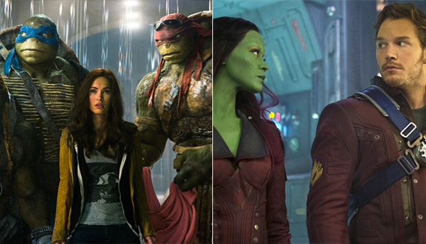 Teenage Mutant Ninja Turtles / Guardians of the Galaxy