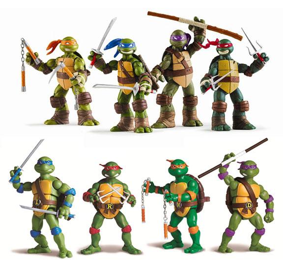 Toys Ninja Turtlw : Nick playmates introduce new tmnt toys