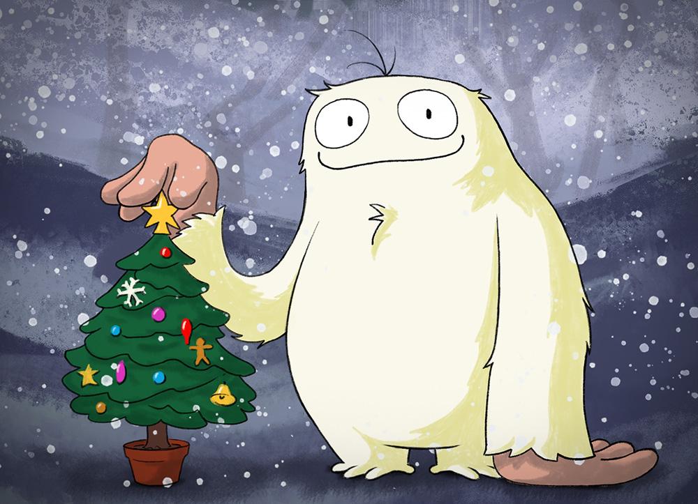 El abominable bebé de las nieves de Terry Pratchett