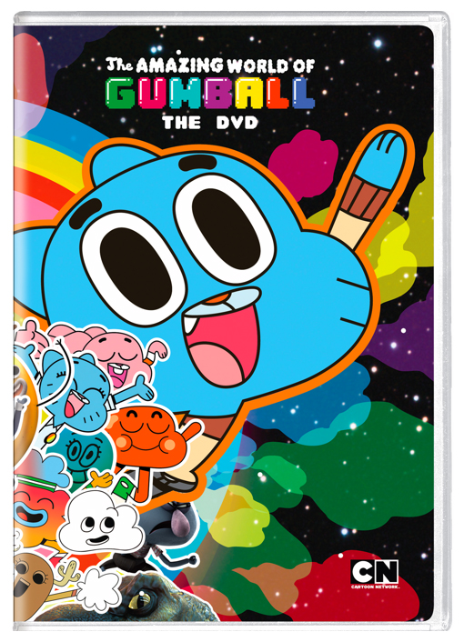 "The Amazing World of Gumball ""The DVD"" DVD"