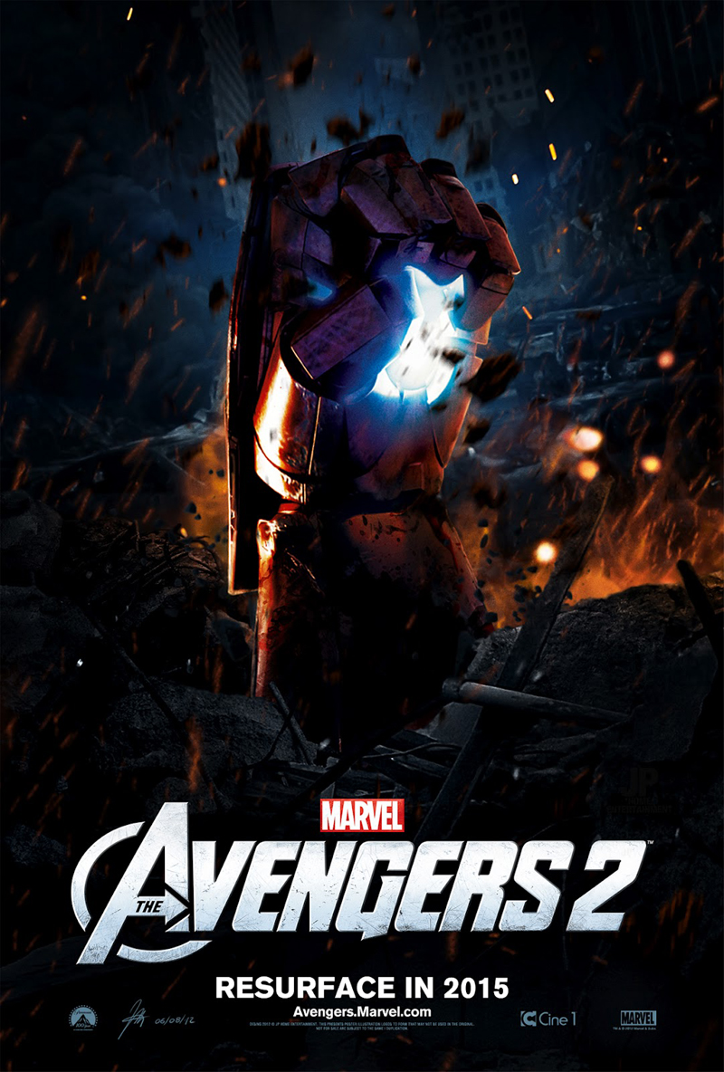 Rejoice avengers 2 has official release date