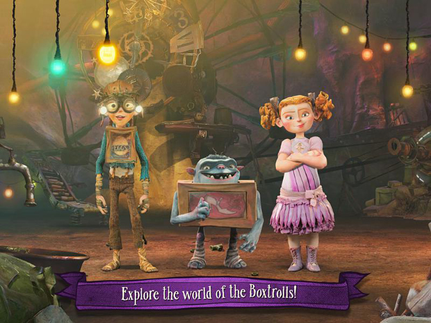 The Boxtrolls: Slide 'n' Sneak