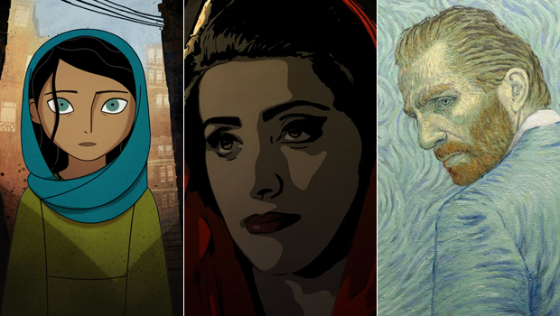 The Breadwinner / Tehran Taboo / Loving Vincent