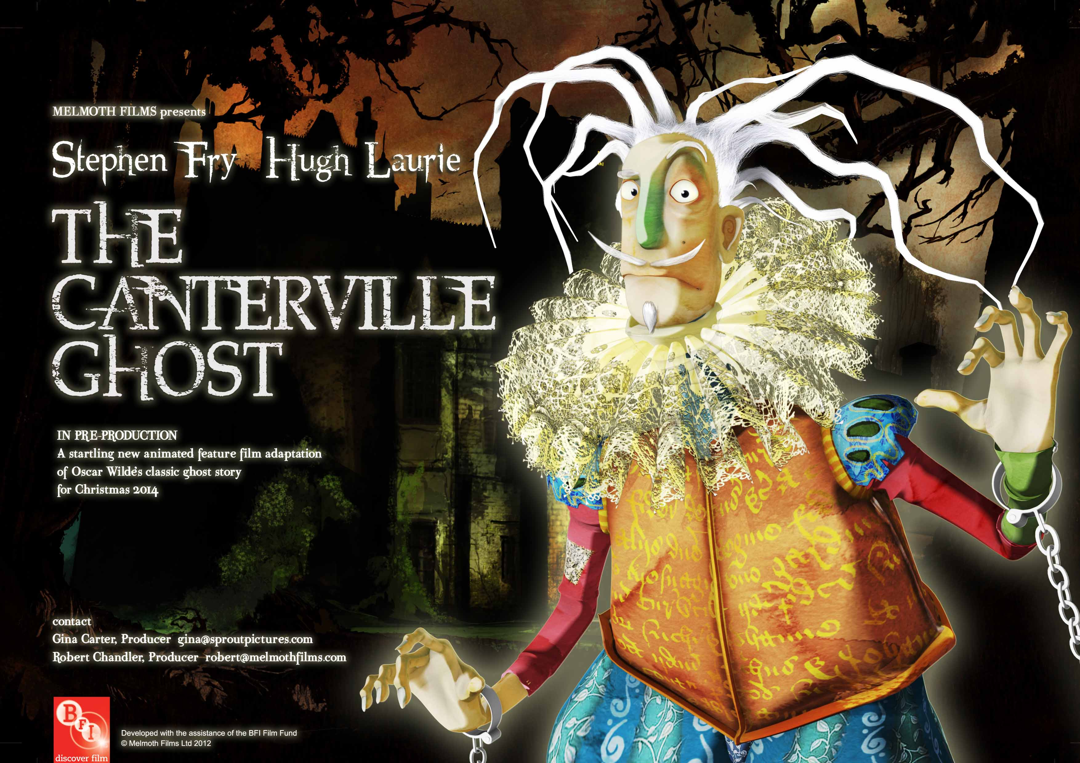 the canterville ghost Watch the canterville ghost movie trailer and get the latest cast info, photos, movie review and more on tvguidecom.