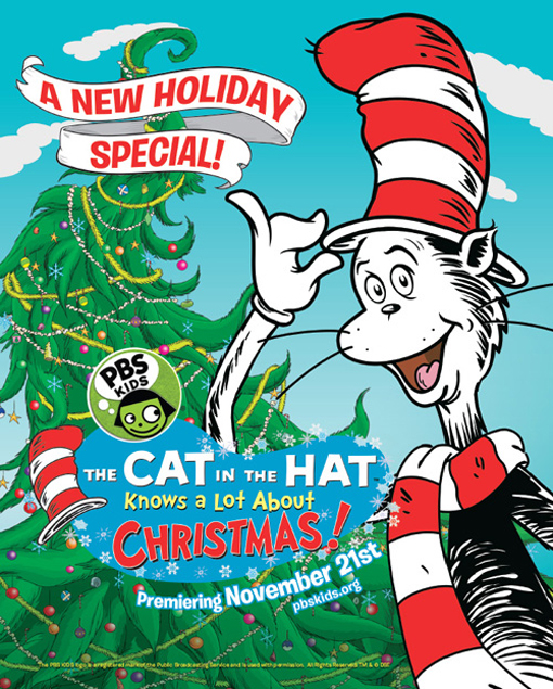 Cat In The Hat Christmas Special To Air On Pbs