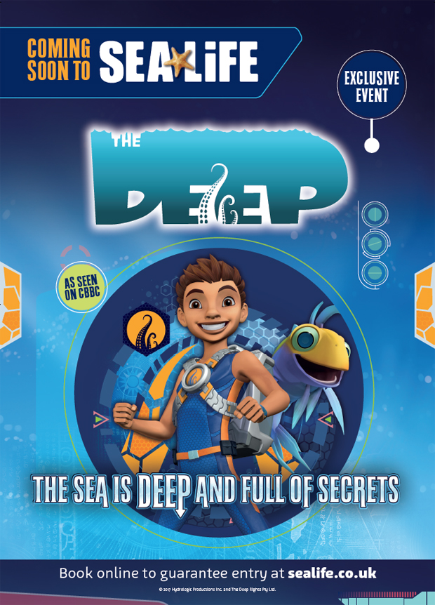 The Deep Sea Life event