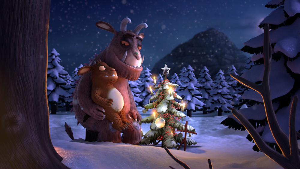 The Gruffalo BBC Christmas ident (Magic Light Pictures)