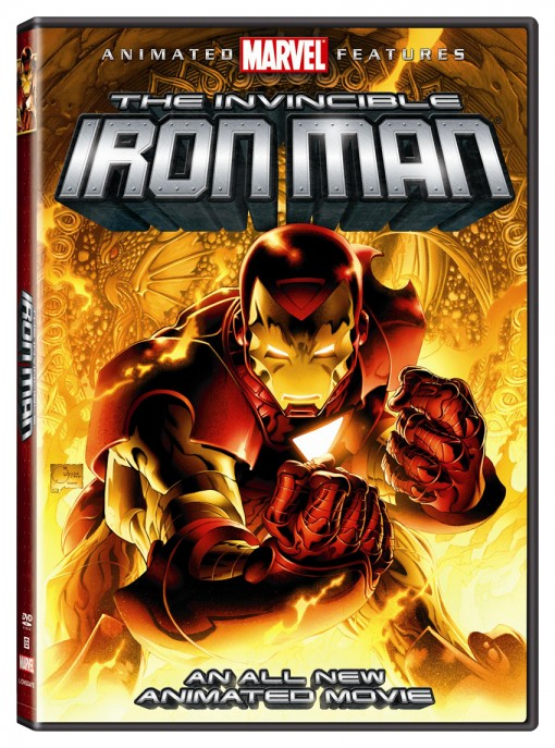 The Invincible Iron Man DVD