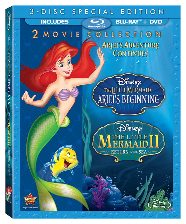 The Little Mermaid II and Ariel's Beginning 2-Movie Collection