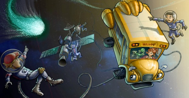 The Magic School Bus 360°