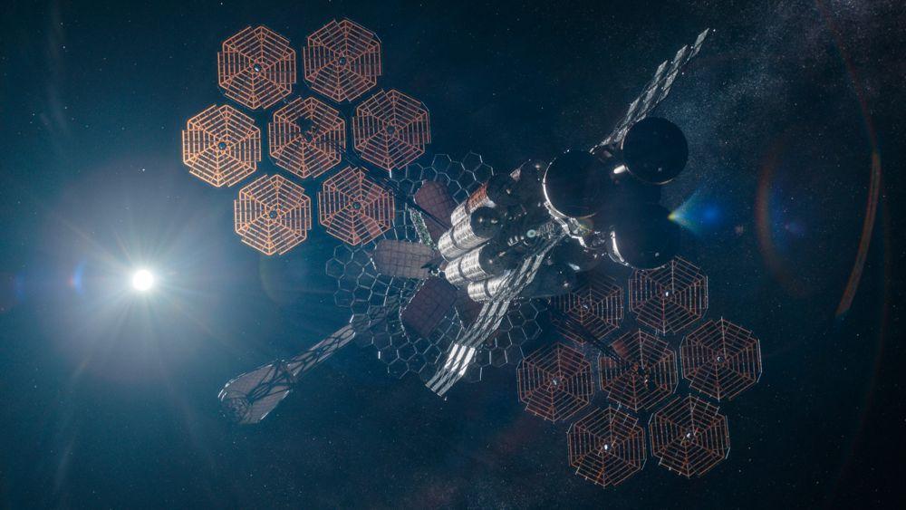 Das Mitternachtshimmelschiff 'Äther'