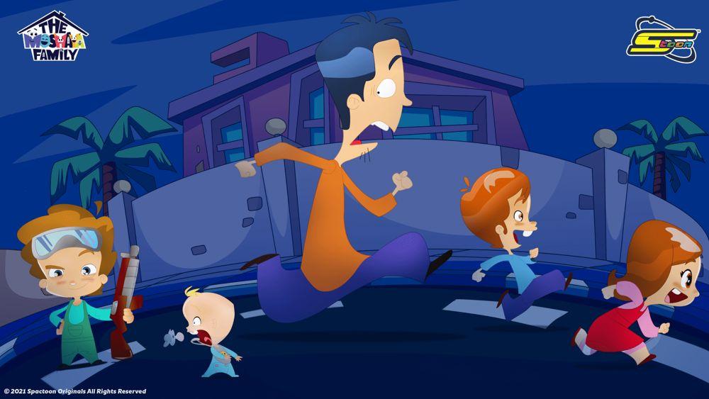 La animación de la familia Moshaya