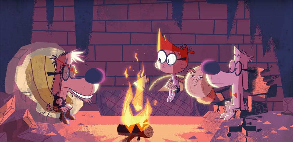 Exclusive Clip Mr Peabody  Sherman Season 3 Arrives