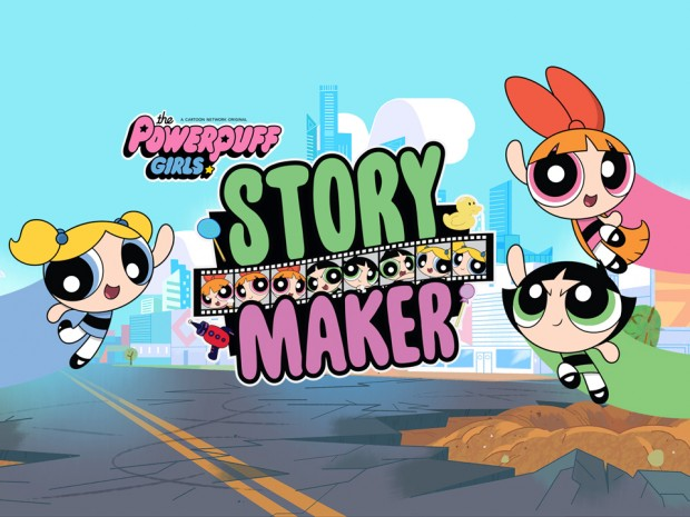 The Powerpuff Girls Story Maker app