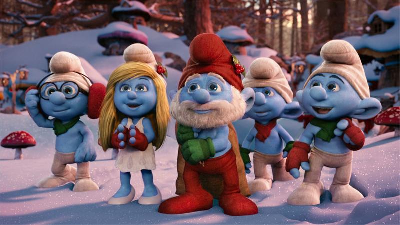 Sony Celebrates 'Smurfs' Christmas, Annie Nods | Animation Magazine