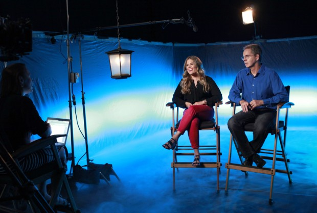 "ABC SPECIAL - THE STORY OF FROZEN: MAKING AN ANIMATED CLASSIC - Academy Award-winning directors of ""Frozen"" - Jennifer Lee and Chris Buck – share the behind-the-scenes secrets of making the biggest animated film of all time in the ABC special ""The Story of Frozen: Making An Animated Classic"" - airing TUESDAY, SEPT. 2 (8:00-9:00pm, ET) on the ABC Television Network. (ABC/Ron Tom) JENNIFER LEE, CHRIS BUCK"