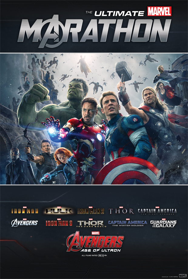 The Ultimate Marvel Marathon