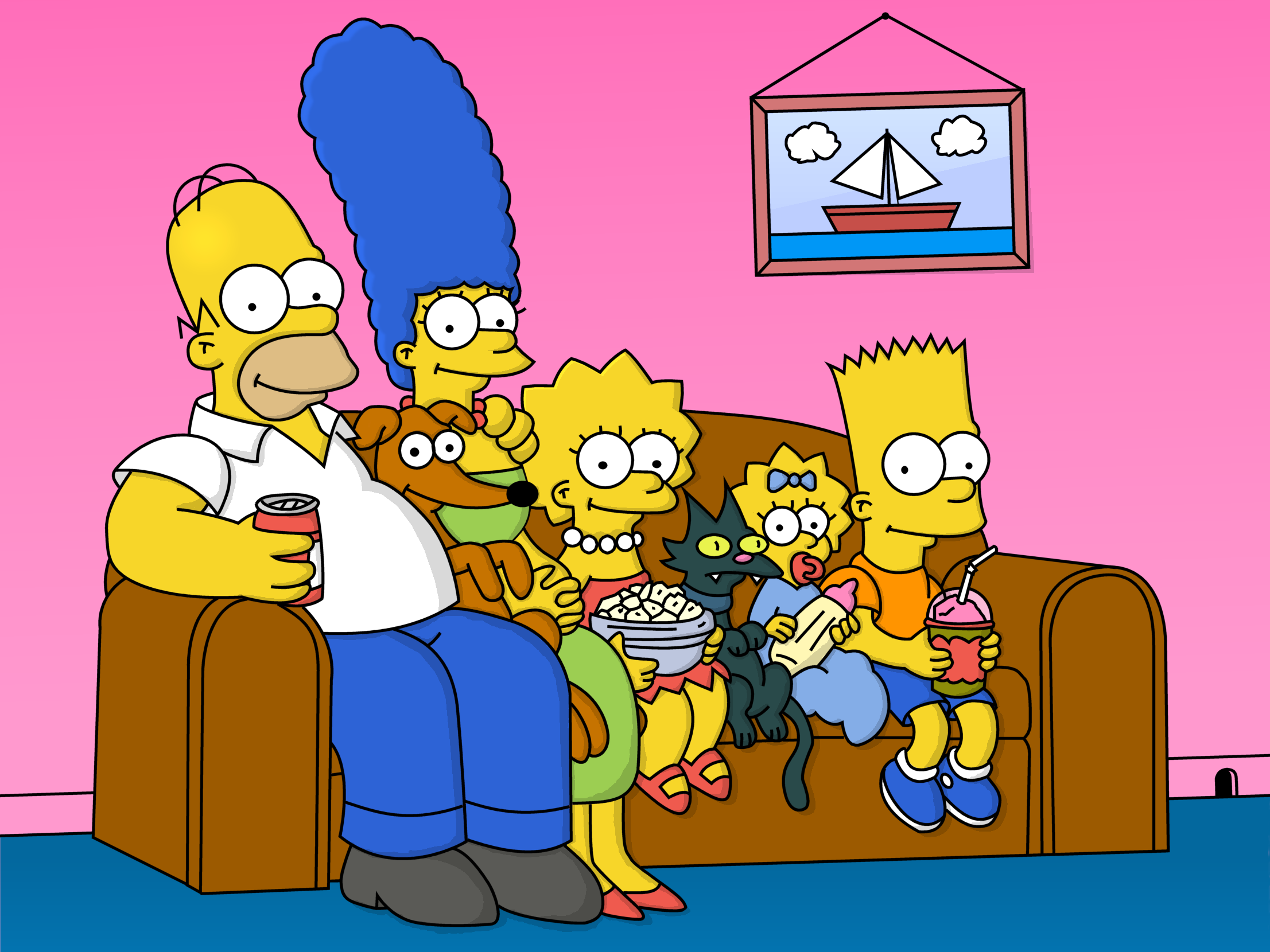[Image: The_Simpson__s_Family_by_Simpsonix.png]
