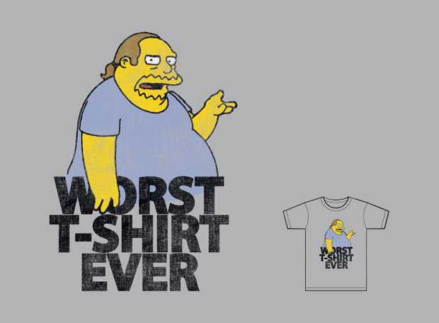 Threadless Simpsons T-Shirt Contest