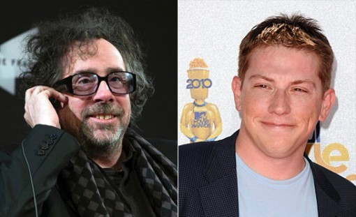 (Left) Tim Burton and (Right) Seth Grahame-Smith